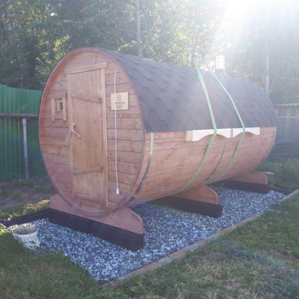 Баня-в-Бочке - ЛЮКС+ (5 метров)