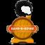 Логотип Баня в Бочке