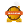 Оригинальный логотип Баня-в-Бочке выполненный в векторе