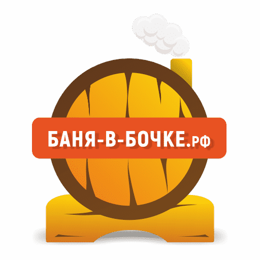 Логотип компании Баня-в-Бочке